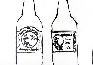 Bottle & label thumbnails