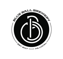 The final Blue Ball Brewery logo/seal used on the labels