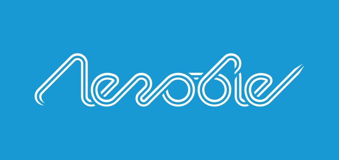 aerobie-rebrand-logo-blue-background